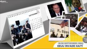 Esta semana en la historia: EEUU invade Haití