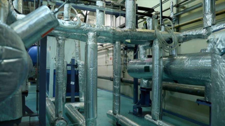 Energía Atómica de Irán: Purificación de alimentos para cadenas de enriquecimiento