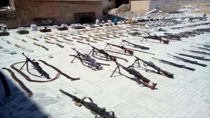 Cientos de milicianos deponen armas en la ciudad siria de Tafas