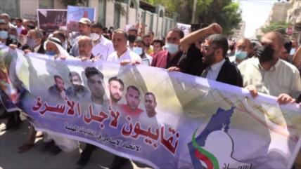 El pueblo palestino alza su voz en apoyo a sus heroicos presos