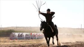 Irán celebra Competencia Internacional de Tiro con Arco a Caballo
