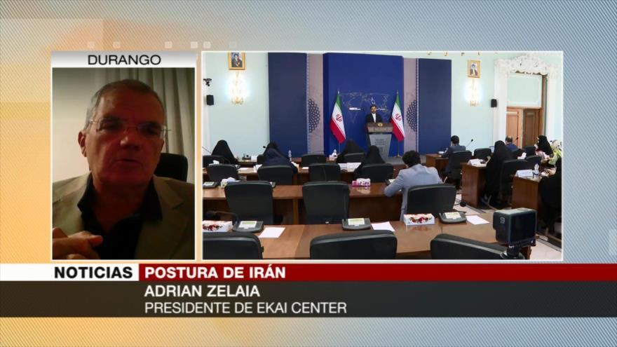 Zelaia: EEUU retrasa diálogos para evitar un Irán fortalecido