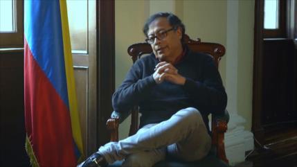 """Gustavo Petro: Colombia necesita """"democracia y paz"""""""