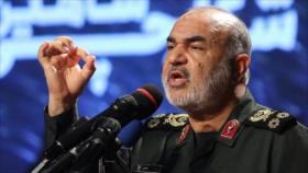 Comandante iraní: EEUU ya es derrotado y no es peligroso