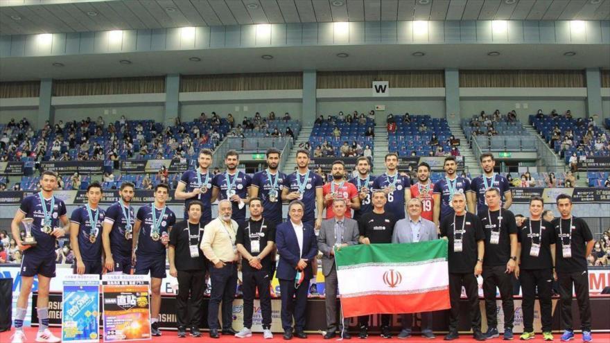 Irán se corona campeón de máxima competición de voleibol de Asia