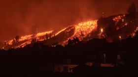 Impresionante erupción volcánica en España acapara las cámaras