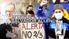 Conmemoración del aniversario de la muerte de Salvador Allende