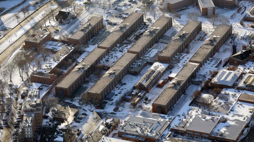 Complejo carcelario de Rikers Island, Nueva York, EE.UU., 5 de enero de 2018. (Foto: AFP)