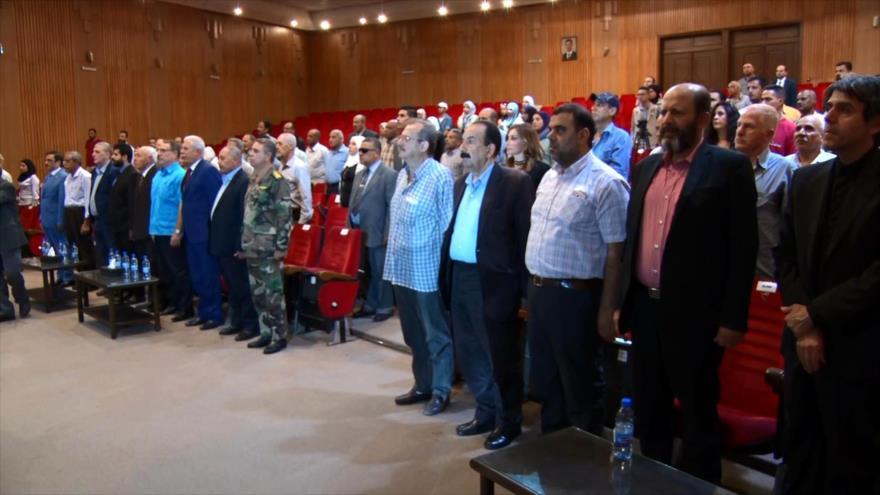 Se celebra en Siria foro sobre el papel de Resistencia palestina