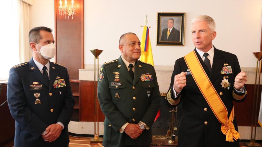 Jefe de Comando Sur de EEUU visita Colombia ¿sube tensión Bogotá-Caracas?