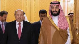 """Arabia Saudí impide que Hadi viaje a EEUU por temor a un """"golpe"""""""