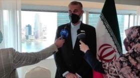 Canciller iraní arriba a Nueva York para asistir a Asamblea General