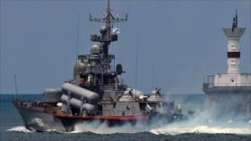 """'OTAN y Ucrania caen en """"trampa"""" de buques de Rusia en mar Negro'"""