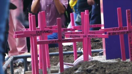 En México, 11 mujeres son asesinadas cada día