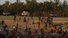 Exigen cese de deportación de haitianos de frontera sur de México