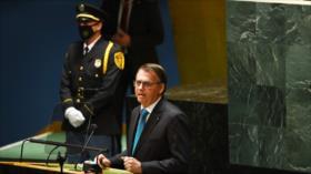 """Brasileños critican el """"mentiroso"""" discurso de Bolsonaro en AGNU"""