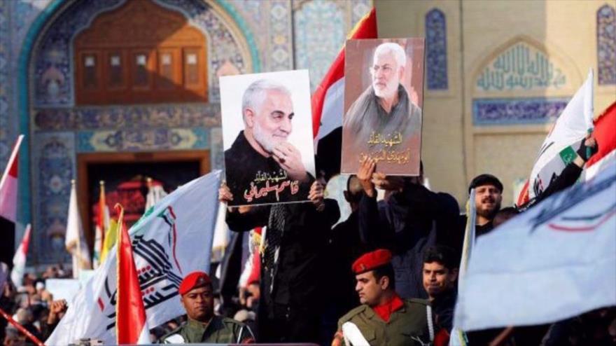 Resistencia mata a militares de EEUU e Israel, asesinos de Soleimani