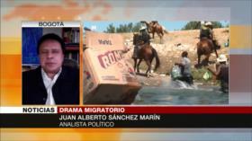 Sánchez: Trato de EEUU contra haitianos refleja su racismo