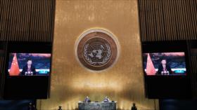 Presidente chino arremete contra el militarismo de EEUU