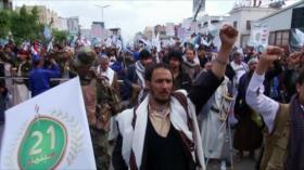 Yemeníes conmemoran el séptimo aniversario de la Revolución
