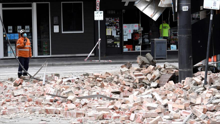 Mayor terremoto en Australia en 24 años sacude ciudad de Melbourne