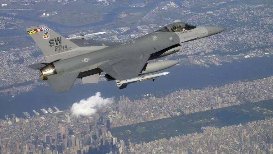 Un F-16 intercepta avión que viola zona restringida por AGNU en NY
