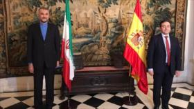 Amir Abdolahian: Irán opta por una relación equilibrada con Europa