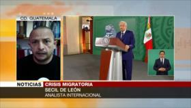 De León: Crisis migratoria en Centroamérica es originado por EEUU