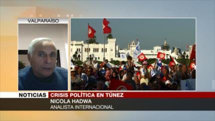 """Hadwa: Lo que está pasando en Túnez es instalar una """"dictadura"""""""