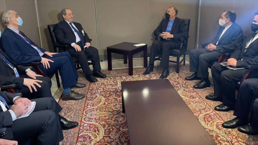 Irán aboga por estrechar las relaciones económicas con Siria | HISPANTV