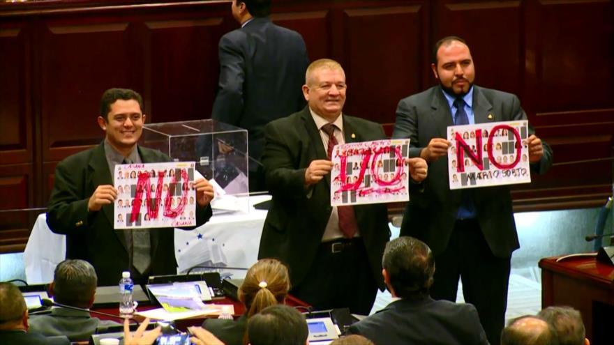 Diputados hondureños no quieren volver a sesiones presenciales