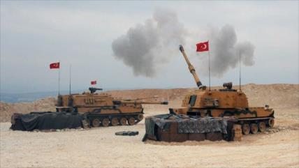Siria urge la salida inmediata de las tropas de Turquía de su suelo