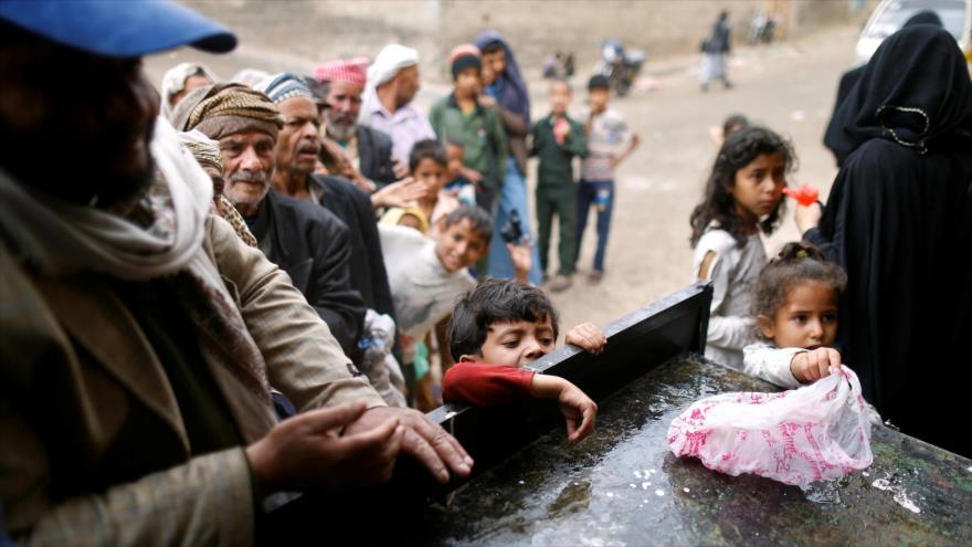 ONU hace sonar alarma: Millones de yemeníes, a un paso de hambruna