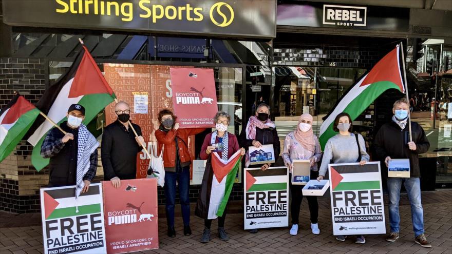 Piden boicot a Puma, cómplice en atrocidades de Israel contra Palestina