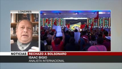Bigio: Bolsonaro no terminaría su mandato y tampoco será reelecto