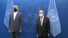 """Irán pide a Guterres tener """"presencia justa"""" en crisis regionales"""