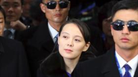 """Hermana de Kim insta a Seúl a cambiar sus """"políticas hostiles"""""""
