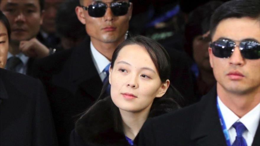 Kim Yo-jong, la hermana del líder norcoreano, Kim Jong-un.