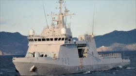 Armada rusa rastrea un patrullero español en mar Negro