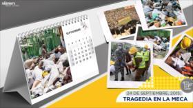 Esta semana en la historia: Tragedia en la Meca