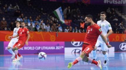 Irán se clasifica a los cuartos de final del Mundial de Fútsal