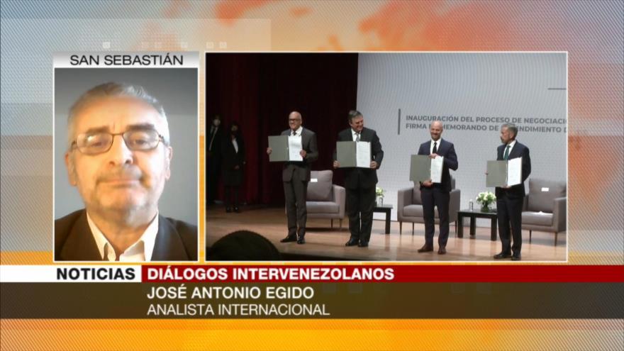 Egido: Oposición debe reconocer oficialmente al Gobierno venezolano