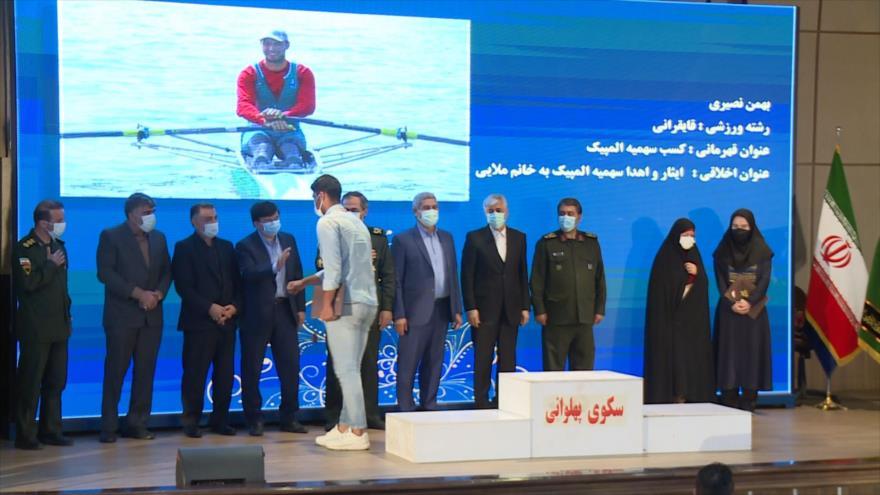 Aprecian a los atletas iraníes que respaldan la causa palestina