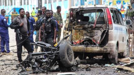 Atentado terrorista deja 7 muertos y 8 heridos en Somalia