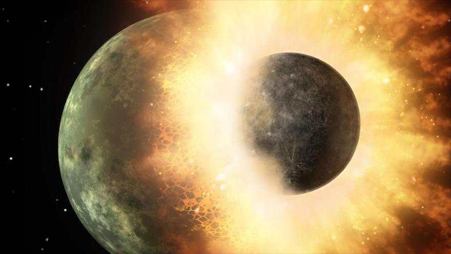 Estudio revela que la Tierra y Venus crecieron como planetas revoltosos.