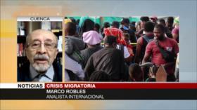 Hay ciertos intereses detrás de crisis migratoria, Robles detalla