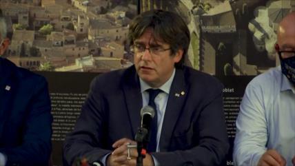 Puigdemont, con más ímpetu independentista tras detención en Italia