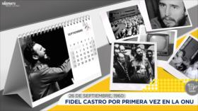 Esta semana en la historia: Fidel Castro por primera vez en la ONU