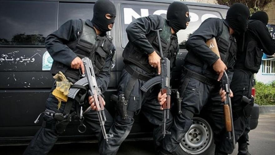 Fuerzas de seguridad iraníes.