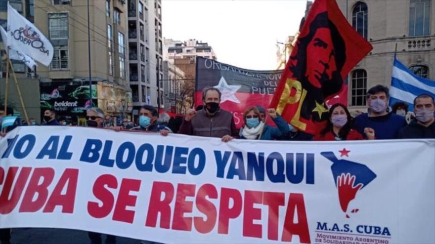 Desde20 urbes del mundo exigen el fin del bloqueo de EEUU a Cuba